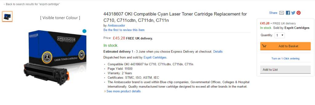 Amazon Product Listing Optimisation