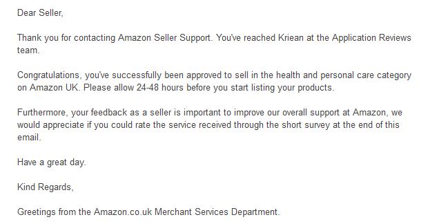 Amazon Category Ungating - Daytodayebay