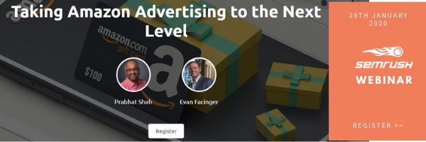Webinar: Taking Amazon Advertising to the Next Level
