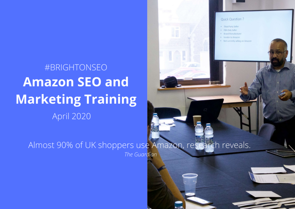 Prabhat Shah - Amazon SEO and Marketing Training UK