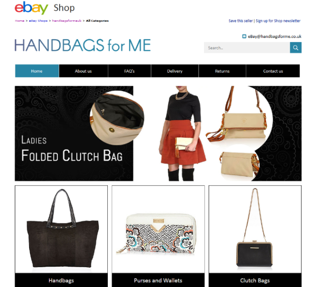 Professional eBay Store Design