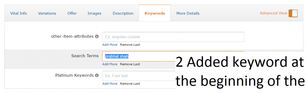 Getting the best out of Amazon Search terms - daytodayebay