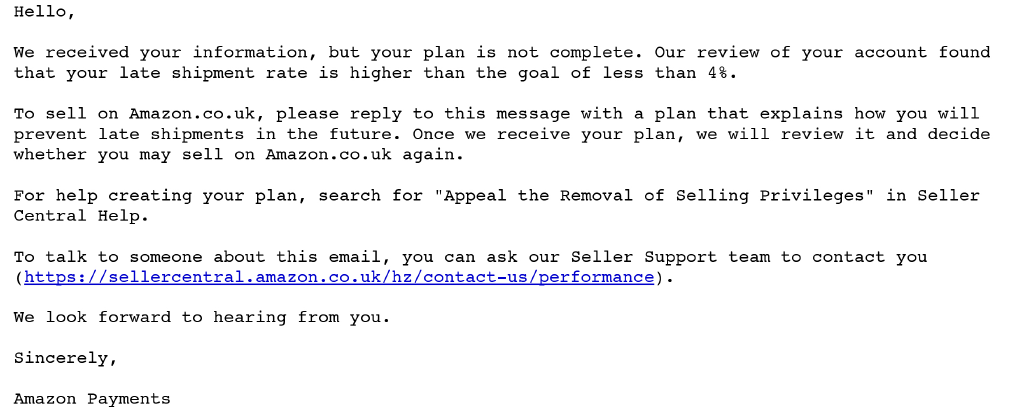 how to email ebay customer support directly