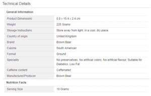 Amazon Product Specification Optimisation