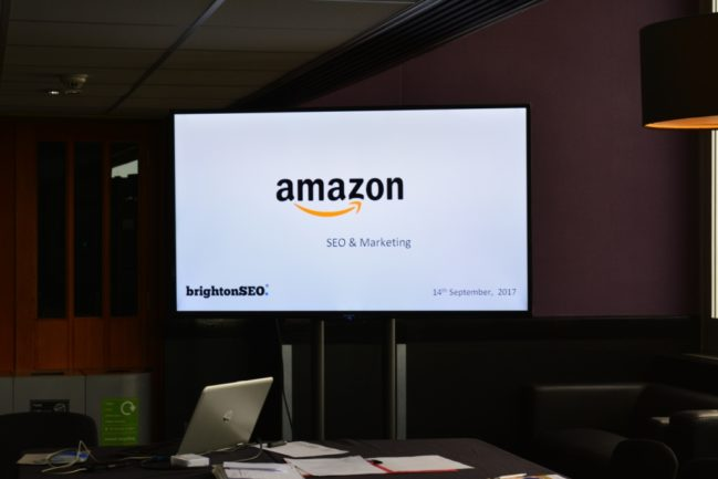 BrightonSEO - Amazon SEO and Marketing Training - Daytodayebay