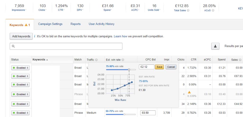 headline search ads - online seller uk